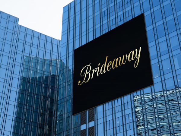 Sample branding #2 for Brideaway