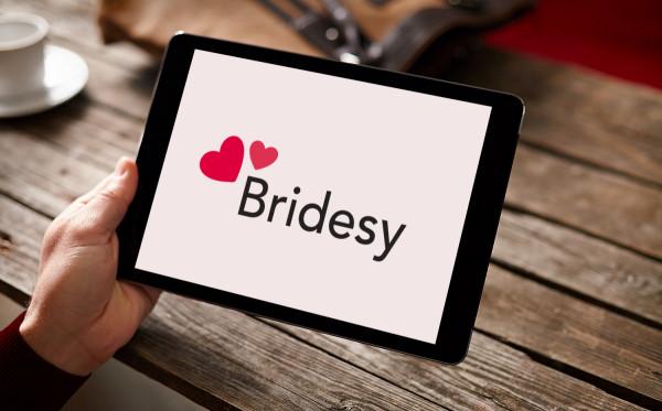 Sample branding #1 for Bridesy