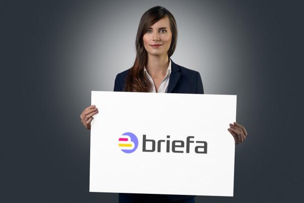 Sample branding #1 for Briefa