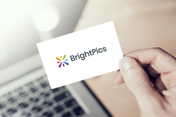 Sample branding #2 for Brightpics