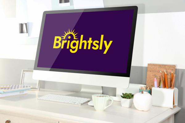 Sample branding #2 for Brightsly