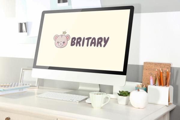 Sample branding #3 for Britary