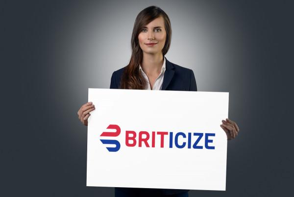 Sample branding #2 for Briticize