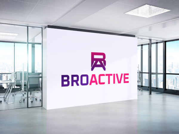 Sample branding #1 for Broactive
