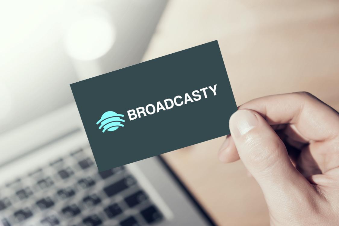 Sample branding #2 for Broadcasty