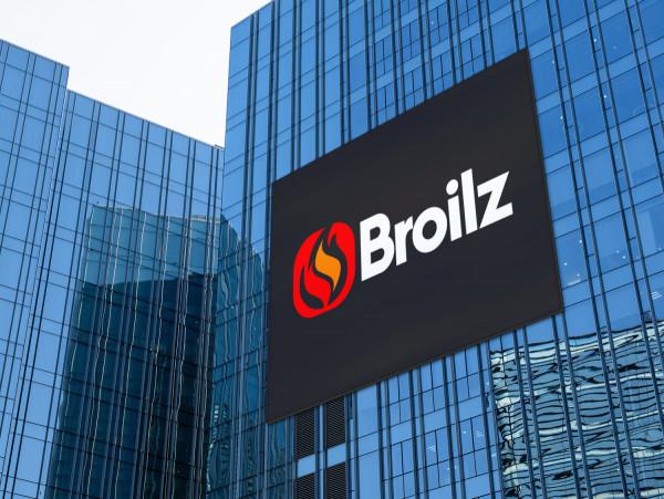 Sample branding #2 for Broilz