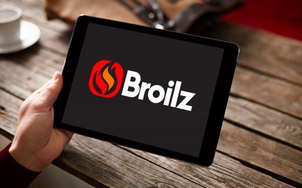 Sample branding #3 for Broilz