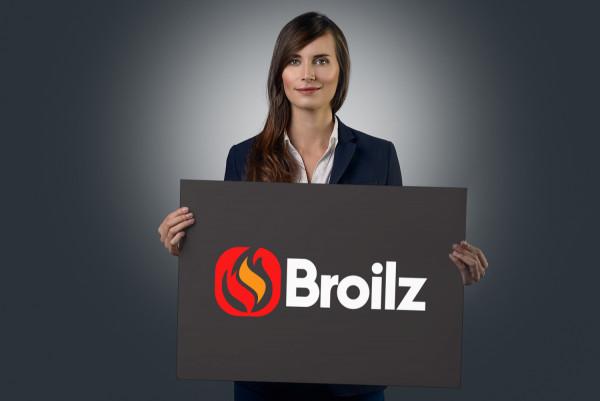 Sample branding #1 for Broilz