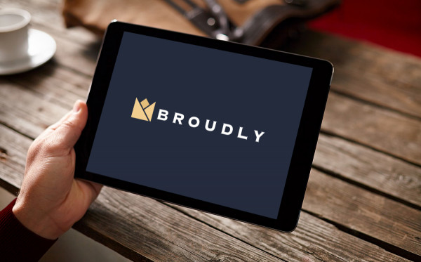 Sample branding #1 for Broudly