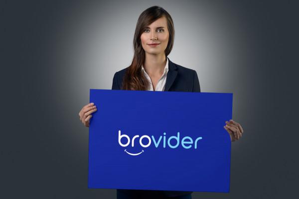 Sample branding #3 for Brovider