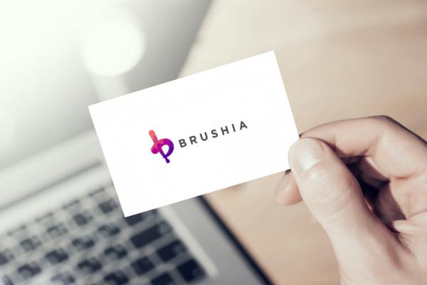 Sample branding #2 for Brushia