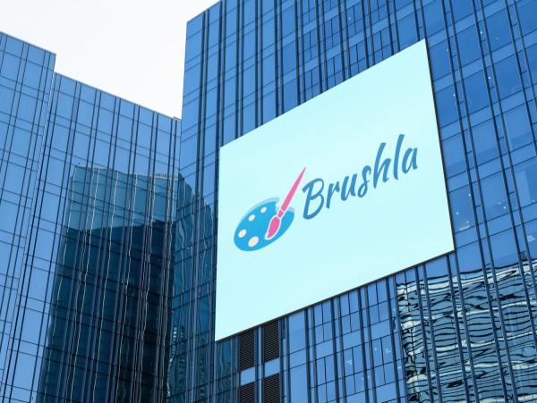 Sample branding #1 for Brushla