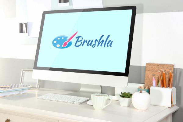 Sample branding #3 for Brushla