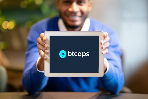 Sample branding #2 for Btcaps