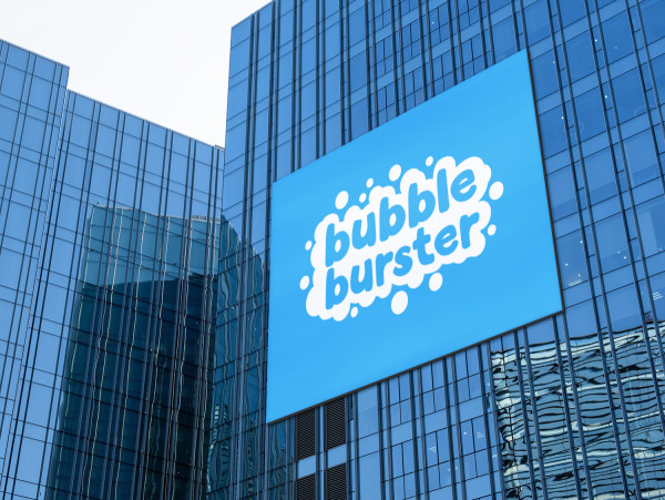 Sample branding #1 for Bubbleburster