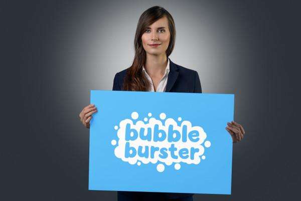 Sample branding #2 for Bubbleburster