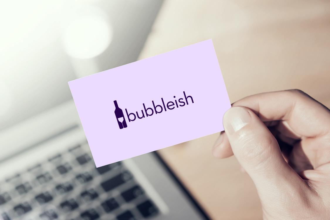 Sample branding #1 for Bubbleish