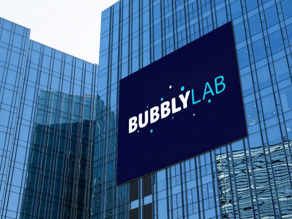Sample branding #1 for Bubblylab