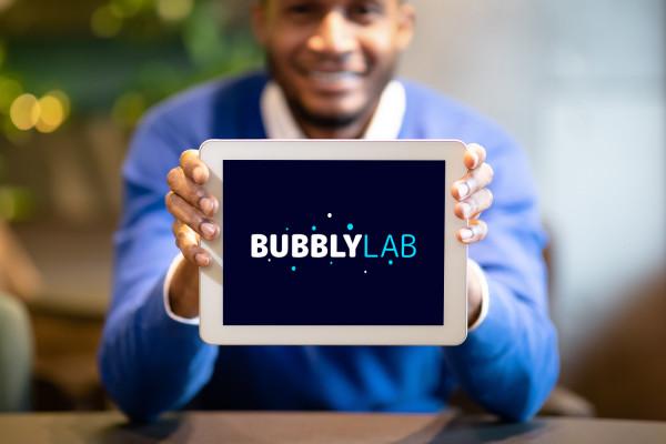 Sample branding #3 for Bubblylab