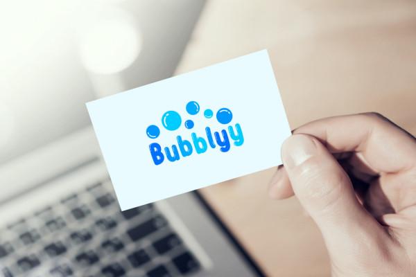Sample branding #1 for Bubblyy