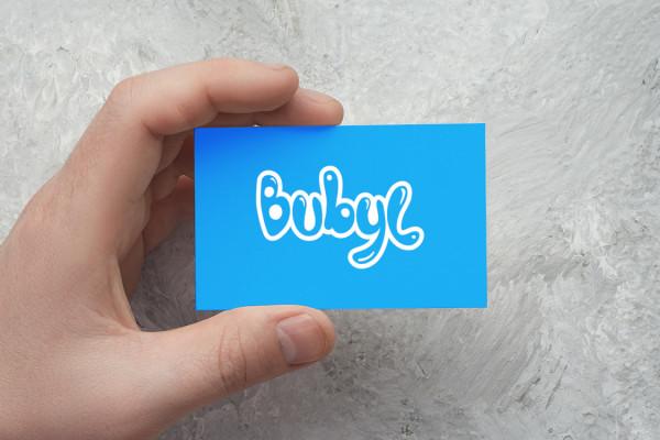 Sample branding #3 for Bubyl