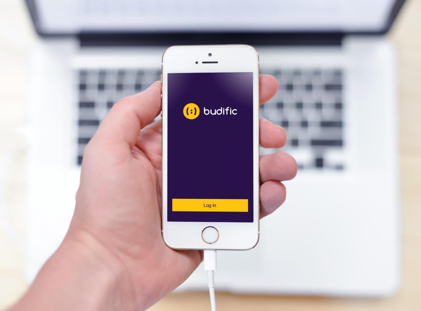 Sample branding #3 for Budific