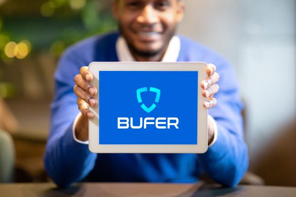 Sample branding #1 for Bufer