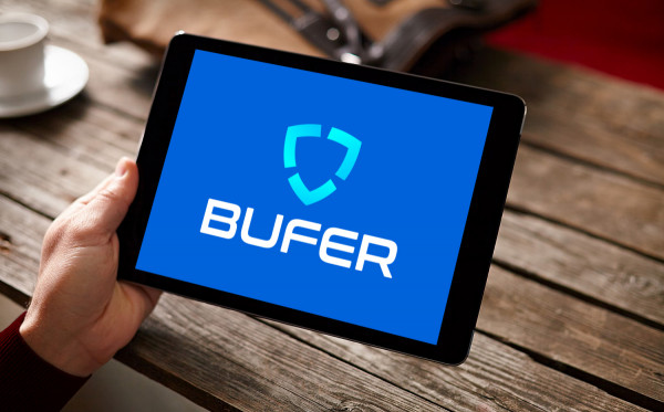 Sample branding #2 for Bufer