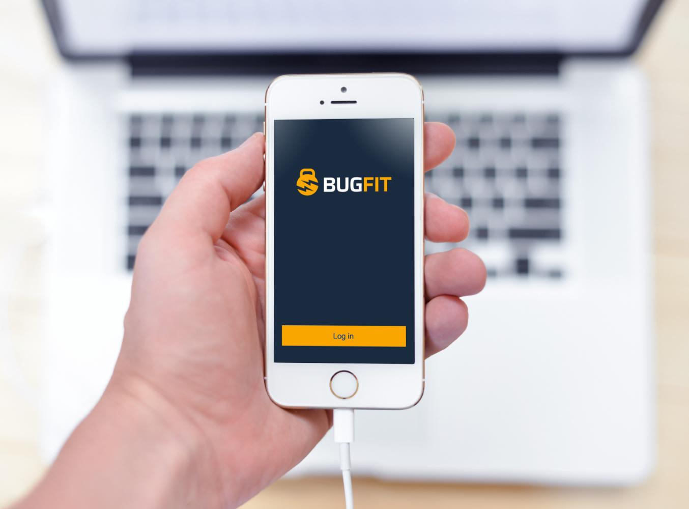 Sample branding #2 for Bugfit