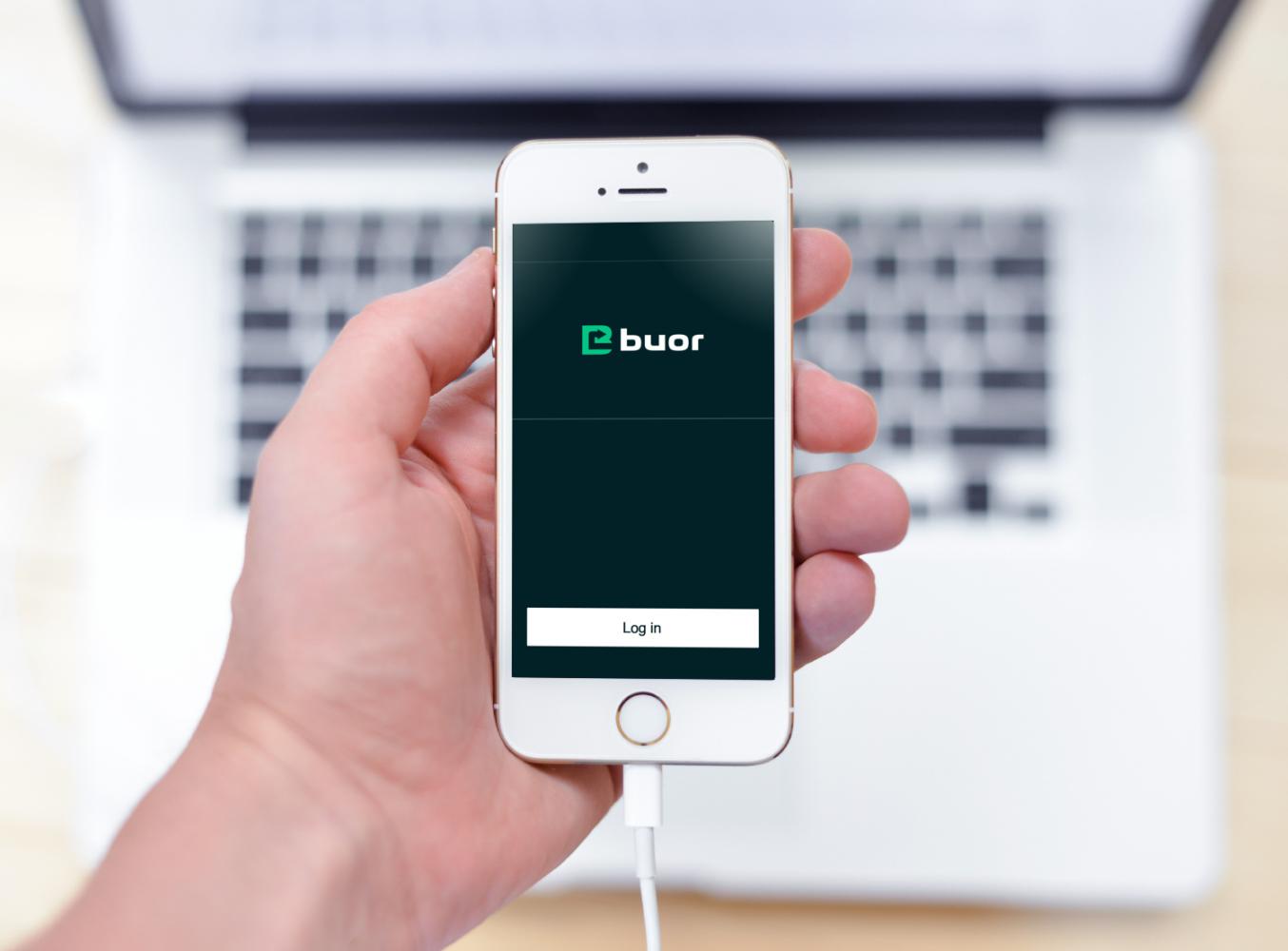 Sample branding #1 for Buor