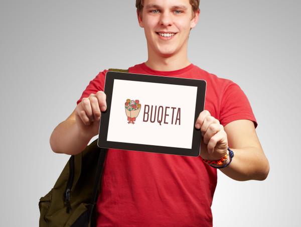 Sample branding #3 for Buqeta