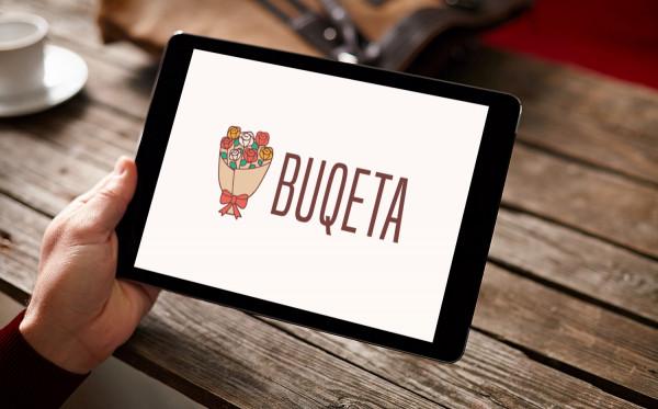 Sample branding #1 for Buqeta