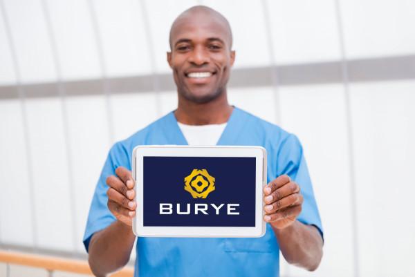 Sample branding #1 for Burye