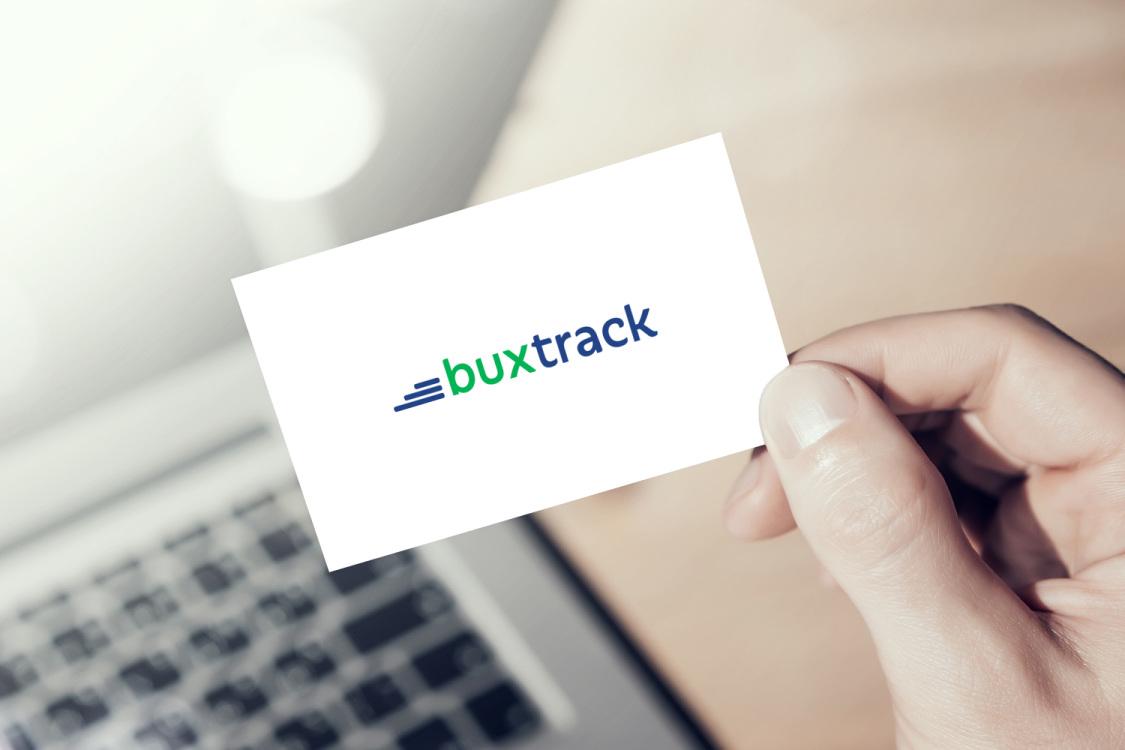 Sample branding #1 for Buxtrack