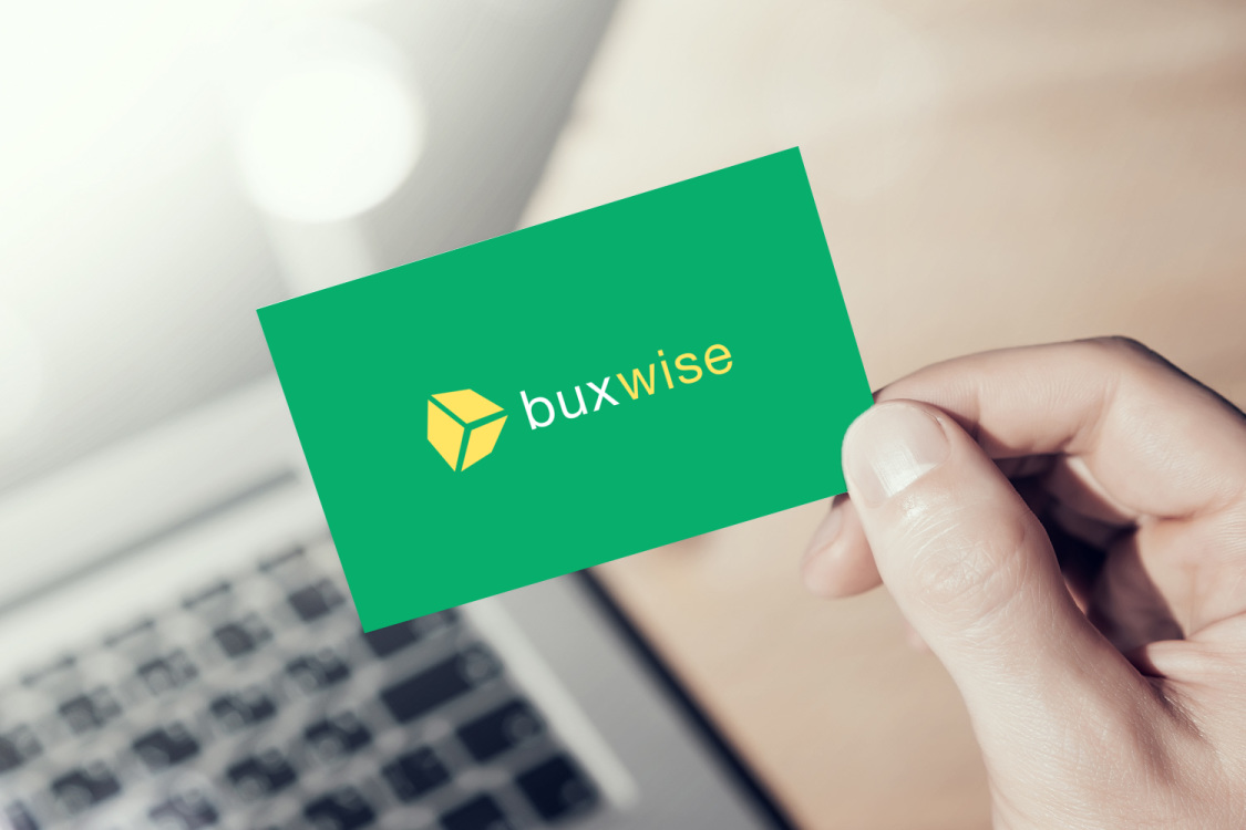 Sample branding #1 for Buxwise