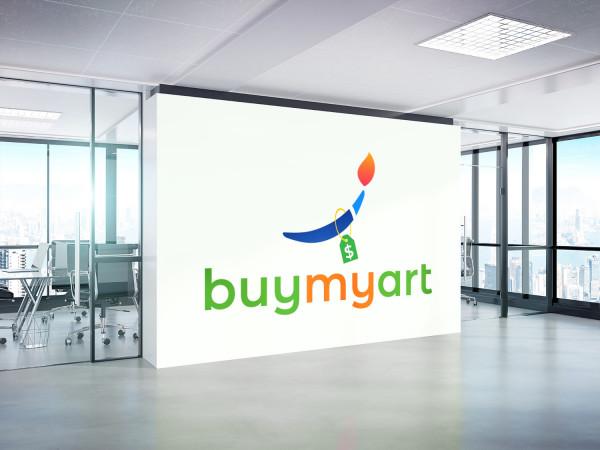 Sample branding #3 for Buymyart