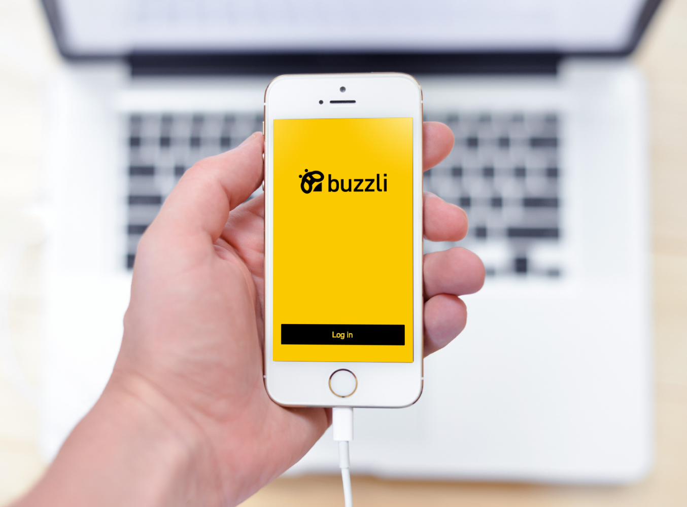 Sample branding #1 for Buzzli