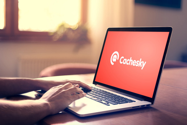 Sample branding #1 for Cachesky
