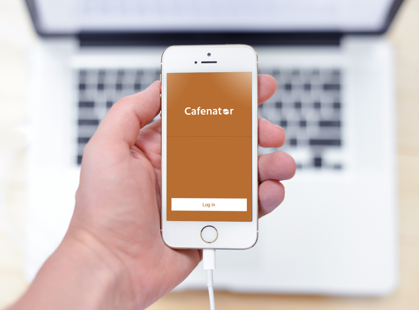 Sample branding #1 for Cafenator