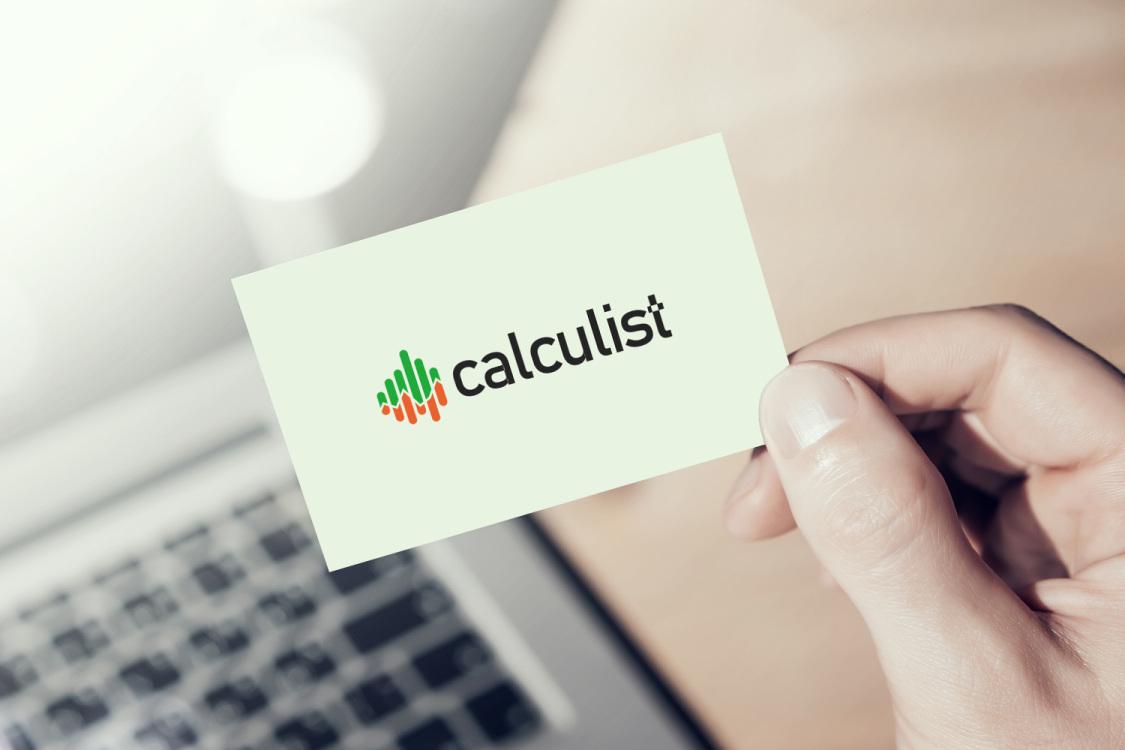Sample branding #3 for Calculist