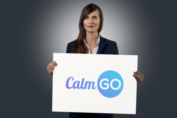 Sample branding #3 for Calmgo