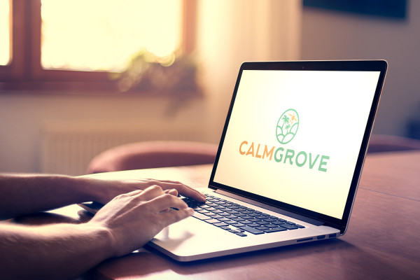 Sample branding #2 for Calmgrove
