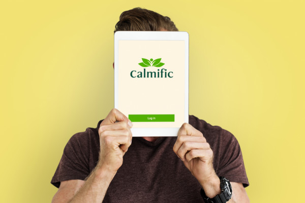 Sample branding #3 for Calmific