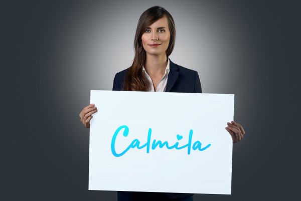 Sample branding #1 for Calmila