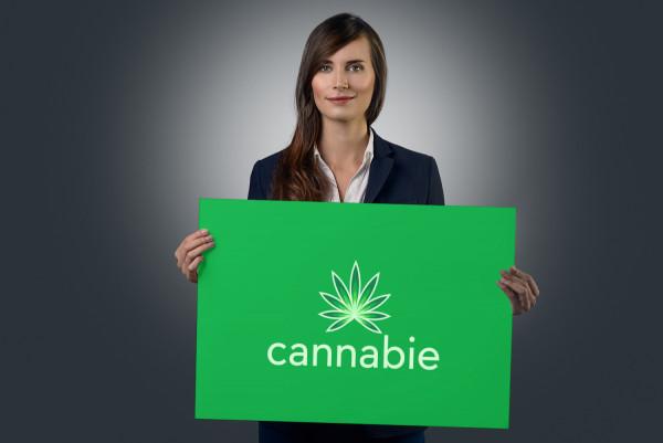 Sample branding #2 for Cannabie