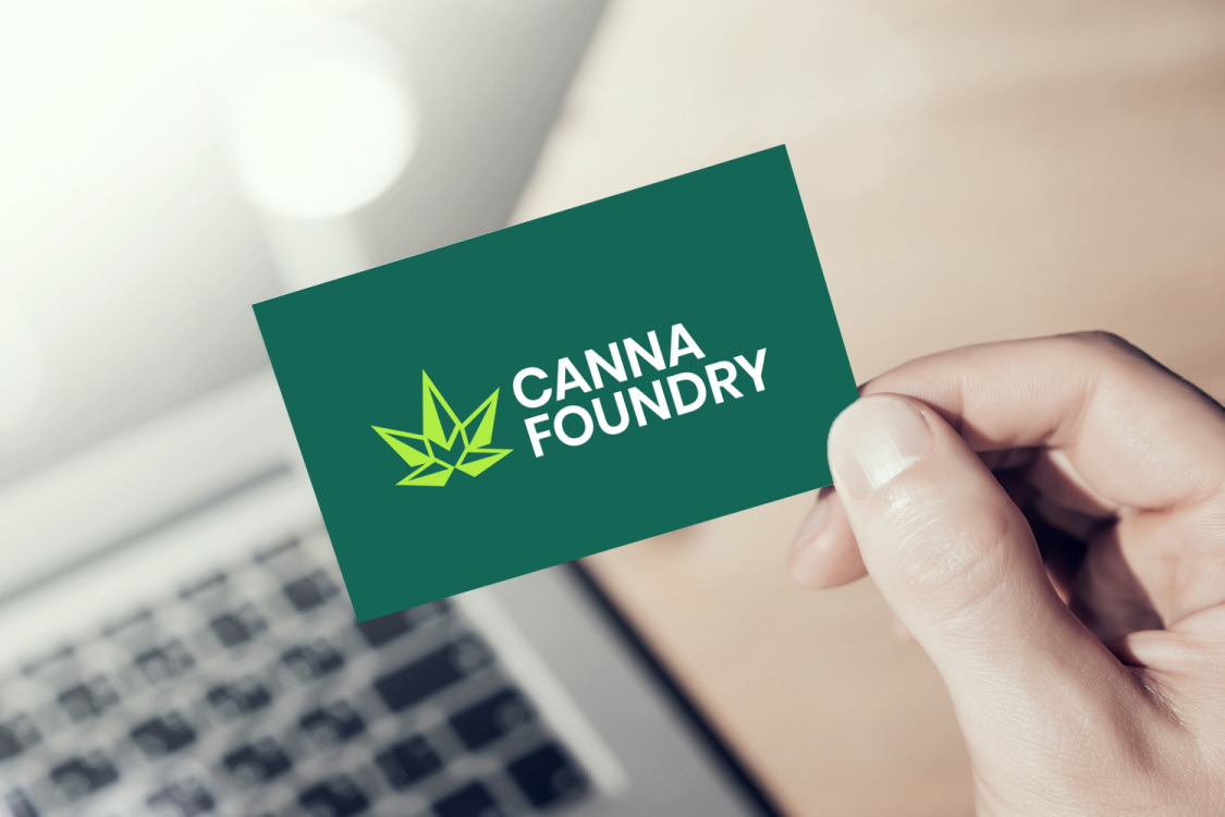 Sample branding #2 for Cannafoundry