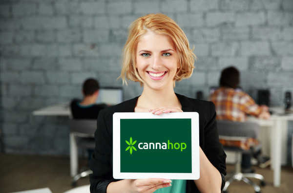 Sample branding #1 for Cannahop