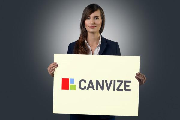 Sample branding #3 for Canvize