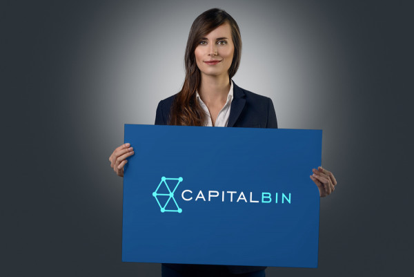 Sample branding #1 for Capitalbin