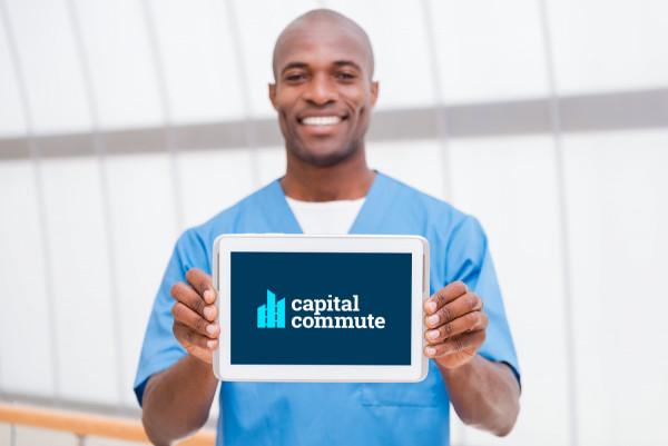 Sample branding #1 for Capitalcommute
